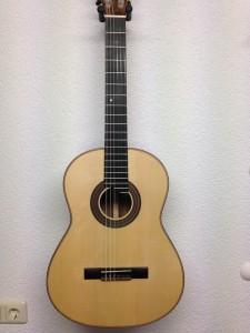 Klassische Gitarre Fichtendecke